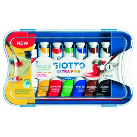 GIOTTO TEMPERA EXTRA 12 ML da 12 tubetti